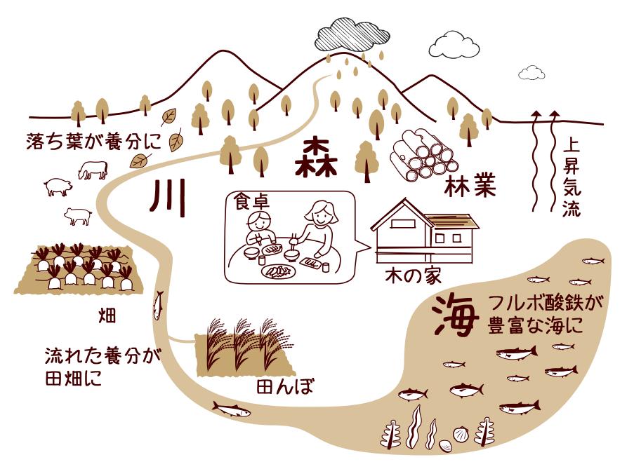 森・川・海の循環
